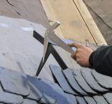 EDMA 038255 Kladivo na štiepanie bridlice ľavé
