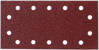 10ks brúsny papier 115x280mm (14 otvorov) K-120 MAKITA P-33043