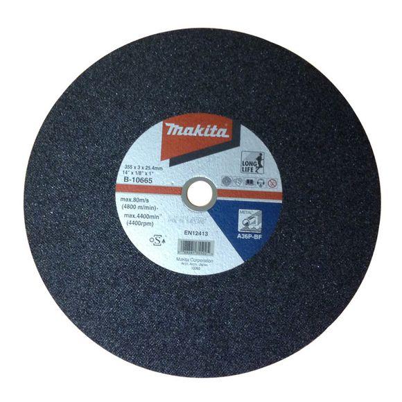 Rozbrusovací kotúč na oceľ 1 ks priemer 355x25,4mm /3 mm (dlhá životnosť) MAKITA B-10665-5/5 (A-01351, B-10665-5)