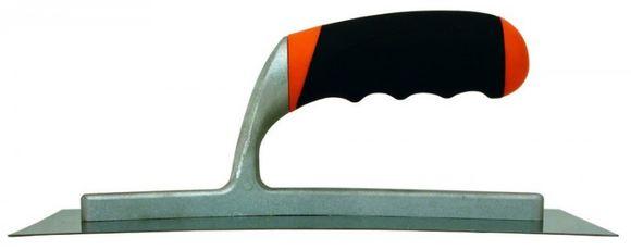 Antikorová  murárska lyžica 280 x 120 mm prehnutá