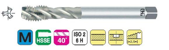 OSG SFT 61419160 Strojný závitník M 14x2 DIN 376