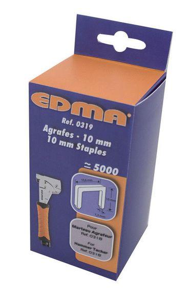 Spona 10 mm (5000 ks) EDMA pre >031855