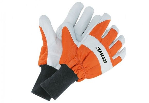 STIHL 0000 883 1508 ECONOMY – rukavice pre prácu s motorovou pílou, s ochranou proti porezaniu veľ.S