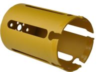 Vykružovacia korunka D 60 mm tvrdokovová s držiakom- max.hĺbka 150 mm, viacúčelová