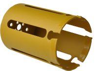 Vykružovacia korunka D 80 mm tvrdokovová s držiakom- max.hĺbka 150 mm, viacúčelová